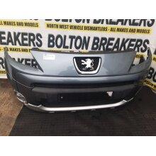 2008-2012 Peugeot Partner Tepee  5 Door BUMPER (FRONT) Grey(ezw) - Used