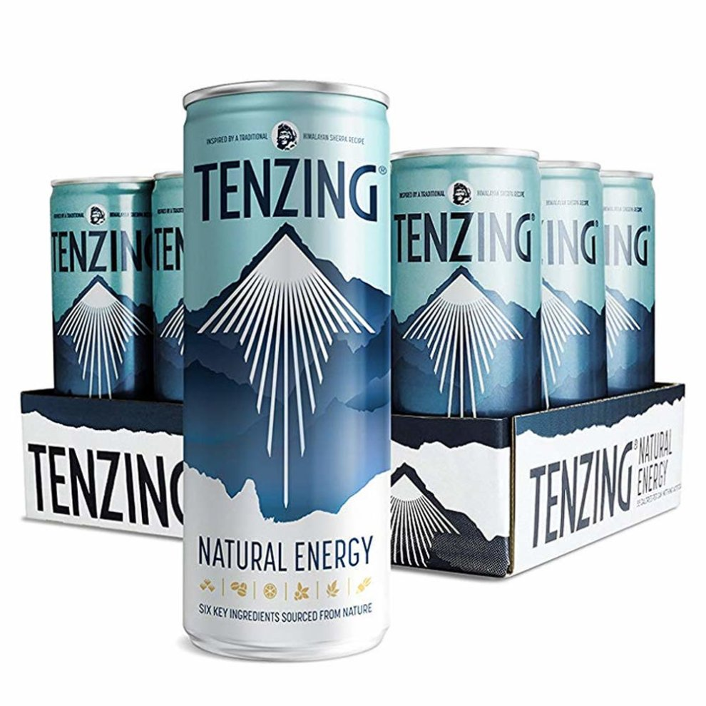 TENZING Natural Energy Drink Made Purely from Plants, Pack of 12 x 250 ml on OnBuy