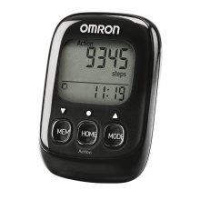 Omron HJ325-EBK Black 3D Walking Style IV Step Counter Pedometer