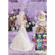 Hawaiian Honeymoon Fashion Doll Crochet Pattern Barbie & Ken 14 Design