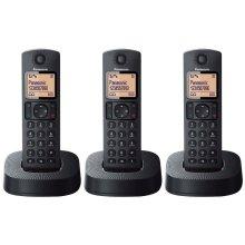 Panasonic KX-TGC313EB Digital Cordless Telephone - Nuisance Call Block - Triple