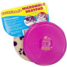 Microwave Wireless Heatpad with Fleece Cover