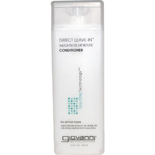 Giovanni, Direct Leave-In Weightless Moisture Conditioner, 250ml