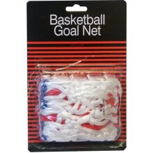 BASKETBALL SPORTS REPLACEMENT RING 12 LOOPS TRI-COLOUR NETS RED/WHITE/BLUE