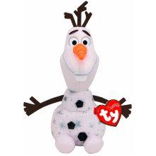 TY Disney Frozen 2 Olaf Medium Beanie With Sound