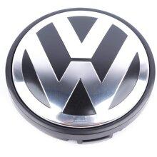 VW Volkswagen Wheel Centre Cap 65mm Hub Badge 1 pcs For Tiguan Golf Polo Passat MK5 MK6 MK7 GTI R-Line