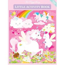 The Piggy Story Unicorn Land Little Activity Booklet For Kids On The Go