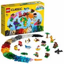 LEGO Classic 4+ Around the World Building Bricks Set 11015