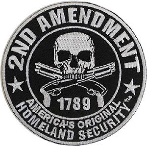Patch - Propaganda - 2nd Amendment Homeland Security Icon-On p-dsx-4833