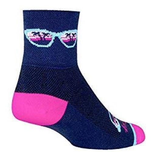 "Socks - Sockguy - Classic 3"" - Shady S/M Cycling/Running"