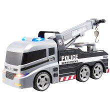 Teamsterz 1416396 Light and Sound Police Tow Truck Toy, 3-6 Years