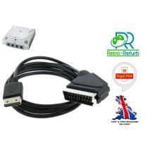 Sega Dreamcast Scart Lead Cable RGB