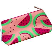 Clinique Donald X Watermelon design Makeup Bag