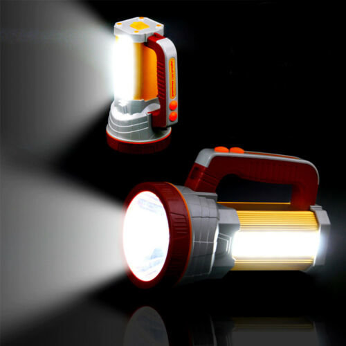 3000LM Super Bright LED Searchlight Spotlight Rechargeable Flashlight Torch
