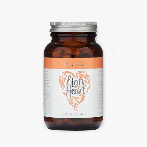 Bare Biology Lion Heart Pure Omega 3 Fish Oil Maxi Caps 60