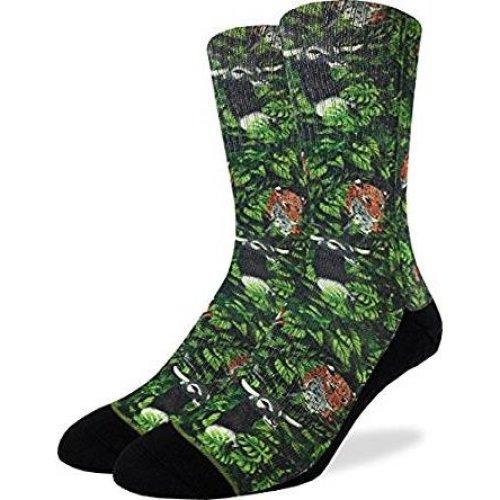 Socks - Good Luck Sock - Men's Active Fit - Jungle Animals (8-13) 4102