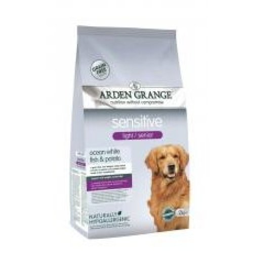 Arden Grange Sensitive Light/senior Ocean White Fish & Potato 2kg