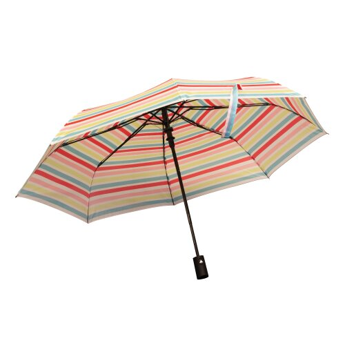 A Joyful Life Umbrella | Auto Push Button Open Foldable | Colourful Gift Idea