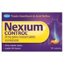 Nexium Control 20mg Tablets 14