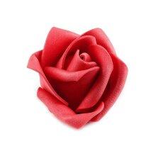 10pc Red Decorative Foam Rose Ø4,5cm, Flowers And Petals, Wedding Decorations