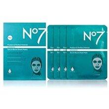 No7 Protect & Perfect Intense Advanced Serum Boost Sheet Face Masks (4)