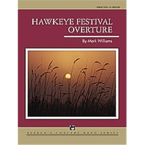 Alfred 00-23315 HAWKEYE FESTIVAL OVERTURE-CB SET4D