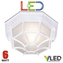 Searchlight 2942WH-LED/STS 2942WH, 9 W, White