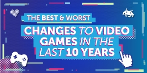 The best and worst changes to video games in the last 10 years