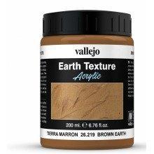 Val26219 - Av Vallejo Stone Textures - Brown  Earth 200ml