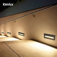 Led Stair Step Lights, Waterproof Embedded Staircase Wall Lamp