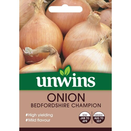Unwins Grow Your Own Bedfordshire Champion Onion Vegetable Seeds