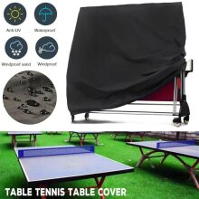 Waterproof Ping Pong Table Cover Dust UV Weather Proof In/Outdoor Storage