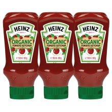 Heinz 100% Organic Tomato Ketchup Sauce  x 3 Pack