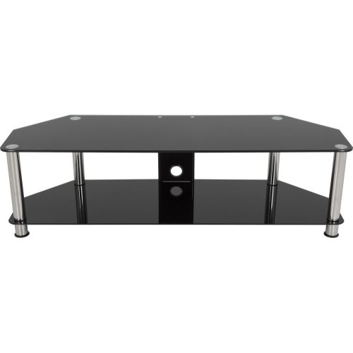 AVF AVF SDC1400CM TV Stand - Black & Chrome, Black