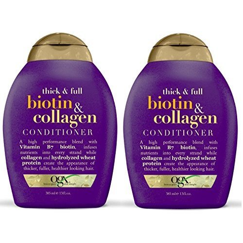 Organix Thick And Full Biotin And Collagen Duo Set Shampoo Conditioner 13 Ounce 1 Each By Ogx