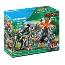 Playmobil T-Rex Volcano Eruption - Dinos 70327
