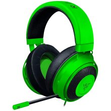 Razer Kraken - Wired Gaming Headset for Multiplatform Gaming for PC, PS4, Xbox One and Switch, 50 mm Diaphragm, 3.5 mm Cable with Line Controls - Gree