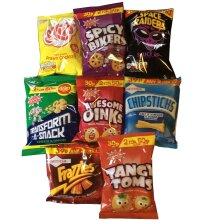 Mixed Crisps Selection Box of 24 Packets