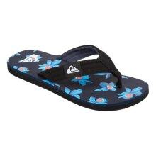 Quiksilver Molokai Layback Sandals - Black / Blue / White - UK 13
