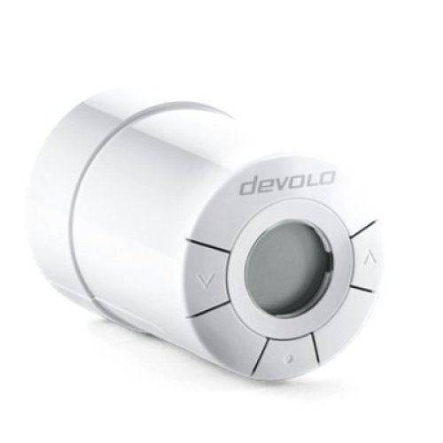 Devolo Home Control Radiator Z-Wave White thermostat