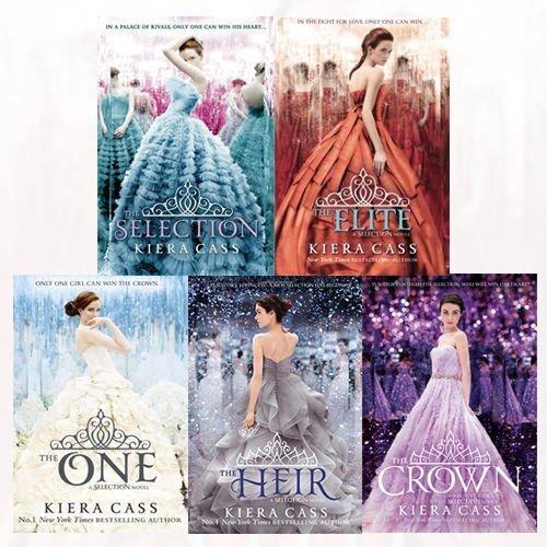 Kiera Cass Selection 5 Books Collection Set