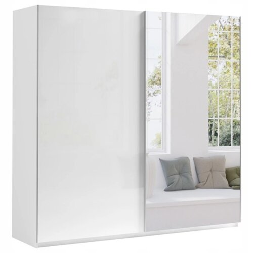 Sliding Door Wardrobe 200 MAROCCO with mirror