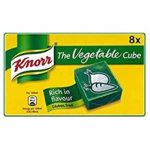 Knorr The Vegetable Cube Stock Cubes (8 x 10g) British