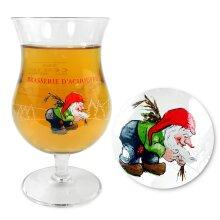 Official La Chouffe Belgium Beer 33cl Glass