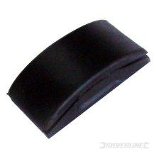 Silverline Pvc Sanding Block 67 x 130mm - 222804 Rubber -  sanding block x silverline pvc 67 130mm 222804 rubber
