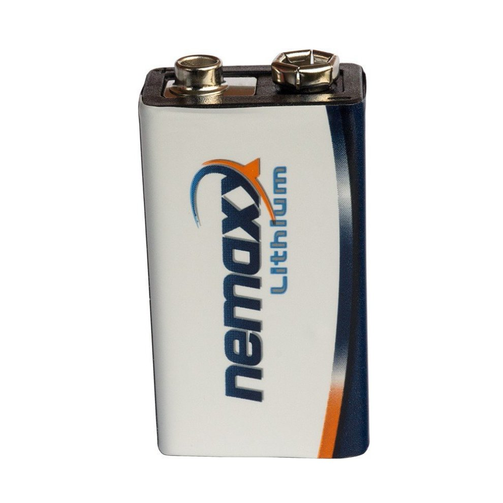 10x Nemaxx lithium 9V battery for smoke