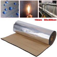 Car Sound Proofing Insulation Heat Pads Foam Mat 10mm Roll 50*200CM
