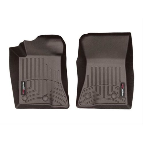 Weathertech W24-476991 2015-2018 Ford Mustang Floor Mat Set for Front Side - Cocoa
