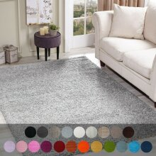THICK SHAGGY LARGE FLUFFY NON SLIP LIVING ROOM MAT