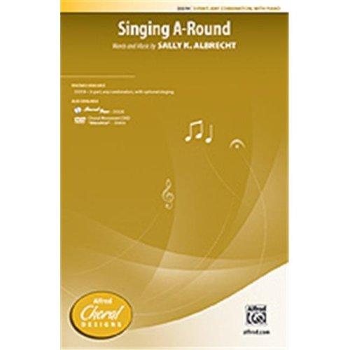 Alfred 00-35520 SINGING A ROUND-STRX CD